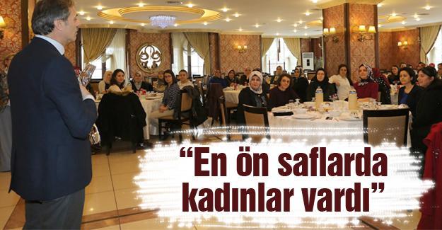 Başkan Alemdar personelin Kadınlar Gününü kutladı