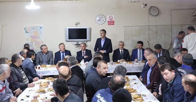 Başkan Alemdar'dan personele teşekkür