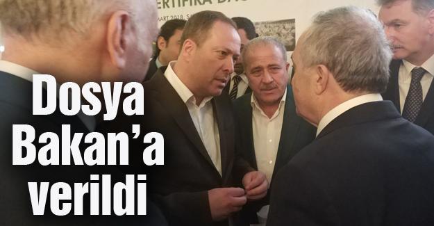 Başkan Kaya Bakan Fakıbaba ile görüştü