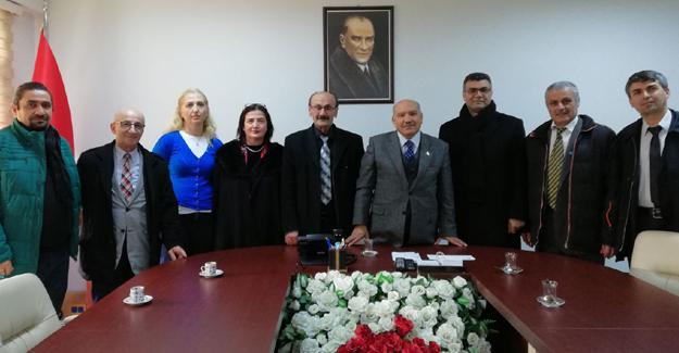 İYİ Parti'den Kaymakam Karabulut'a ziyaret