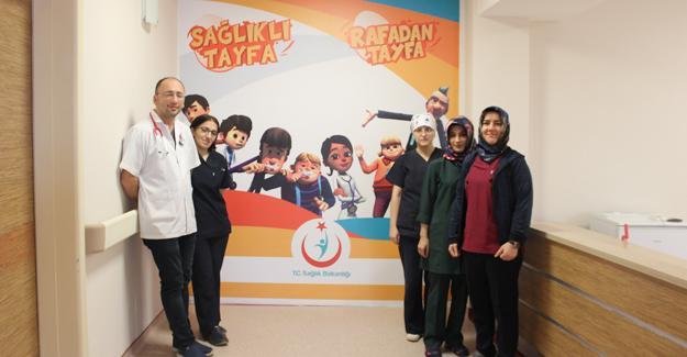 Karasu'da Çocuk Hastalıkları Servisi açıldı