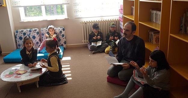 Neviye İlkokulu'nda şehitler için hatim programı