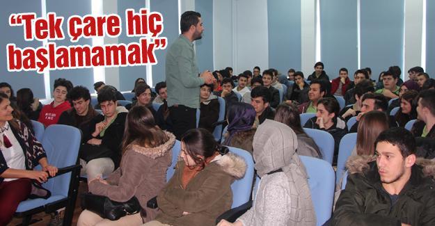 Öğrenciler bilgilendirildi