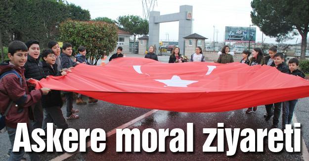Öğrenciler Jandarma'yı ziyaret etti