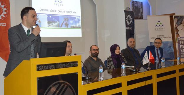 Öğrencilere SEDAŞ'ın ödüllü proje yarışması anlatıldı
