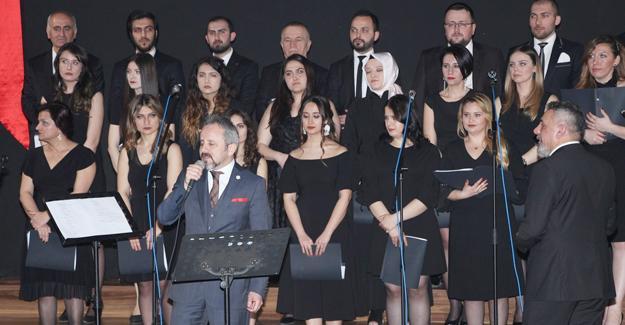 Sakarya Barosundan Türk Halk Müziği konseri