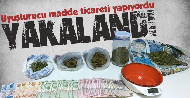 Uyuşturucu ticareti yapan şahıs yakalandı