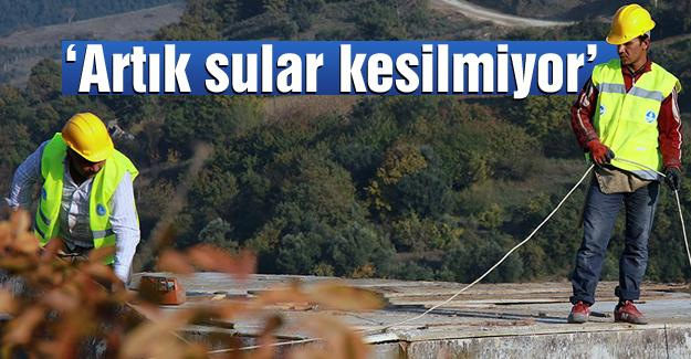 37 bin metrelik içmesuyu altyapısı yenilendi