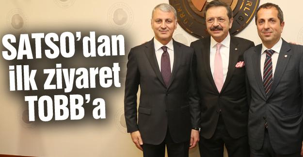 Altuğ ve Yönetimi Hisarcıklıoğlu'nu ziyaret etti