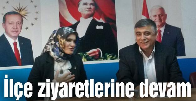 Bafralıoğlu Ferizli ilçe teşkilatını ziyaret etti