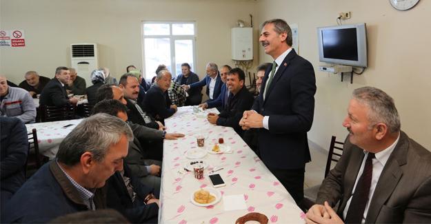 Başkan Alemdar'dan personele hayırlı olsun ziyareti