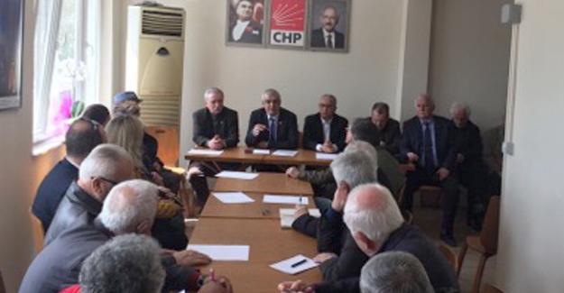 CHP'de eğitim toplantısı
