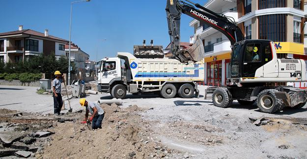 Eski Kazımpaşa Caddesi'nde çalışmalar tamamlanıyor