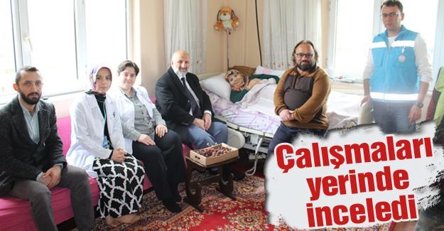 Evde sağlık hizmetleri takdir topluyor