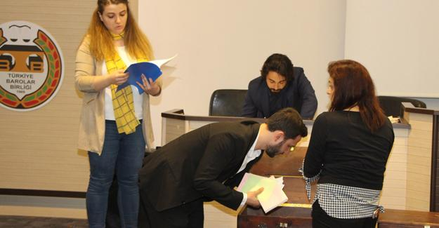 Genç avukatların seçim heyecanı