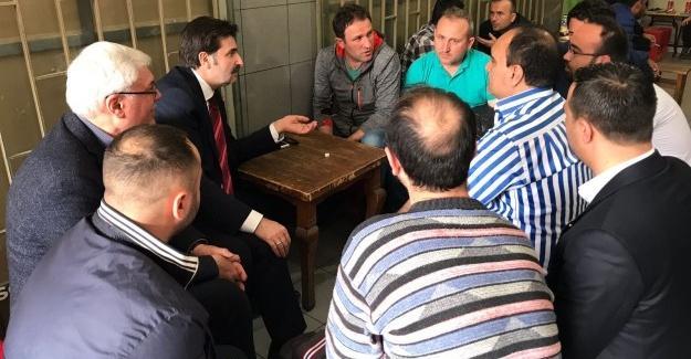 Milletvekili Üstün ziyaretlerini sürdürüyor