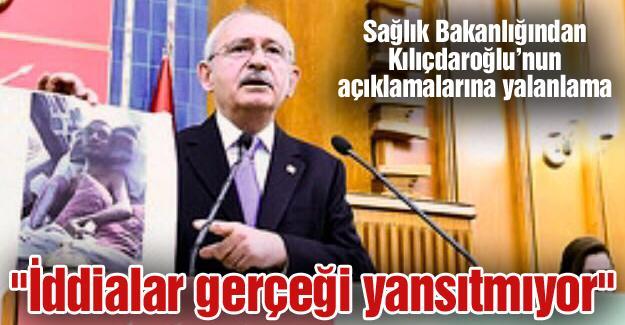 Sağlık Bakanlığından Kılıçdaroğlu'nun açıklamalarına yalanlama