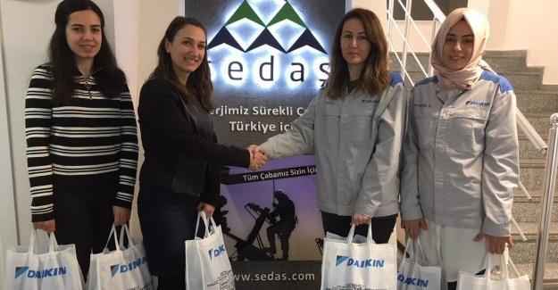 SEDAŞ'ın 'Kapak olsun' projesine destek sürüyor