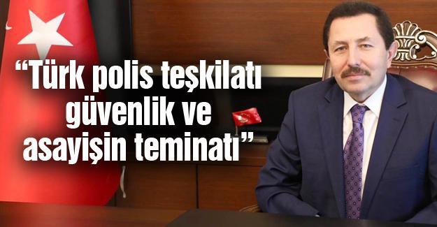 Vali Balkanlıoğlu'ndan kutlama mesajı