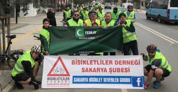Yeşilay Bisiklet Turu etkinliği sona erdi