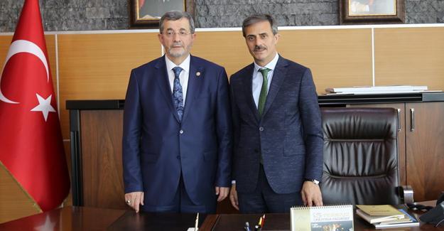 Aday Adayları Başkan Alemdar'a misafir oldu