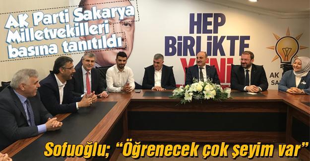 AK Parti Milletvekili adayları basına tanıtıldı