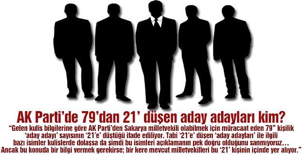 AK Parti'de 79'dan 21' düşen aday adayları kim?…