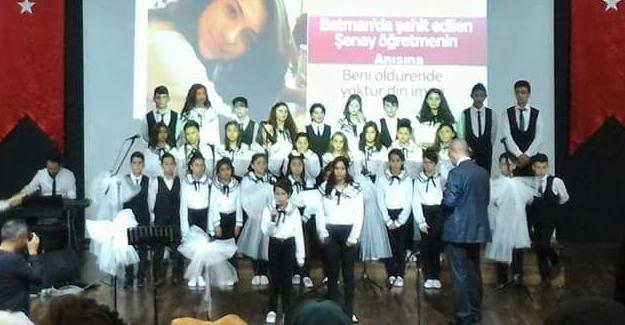 Arif Nihat Asya Ortaokulu'ndan Türk Müziği Konseri