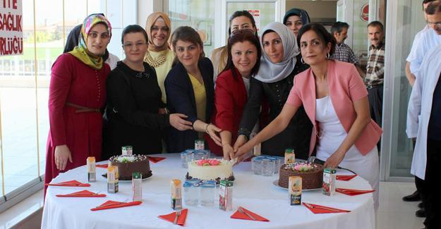 Arifiye İlçe Sağlık Müdürlüğünden sürpriz kutlama