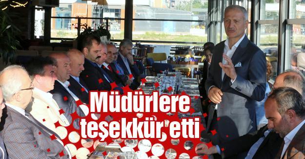 Başkan Dişli birim müdürleriyle toplandı