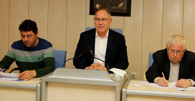 Belediye meclisi tek gündemle toplandı