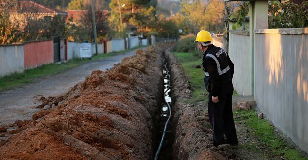 Hendek'e 7 kilometrelik içme suyu altyapısı