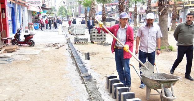 Karasu Atatürk Bulvarı yenileniyor
