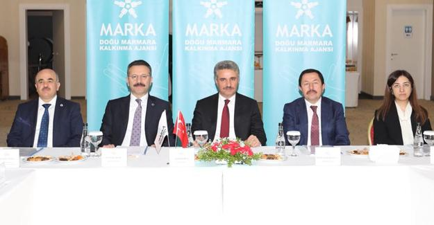 MARKA'nın Mayıs ayı değerlendirme toplantısı yapıldı