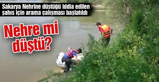 Nehre mi düştü?