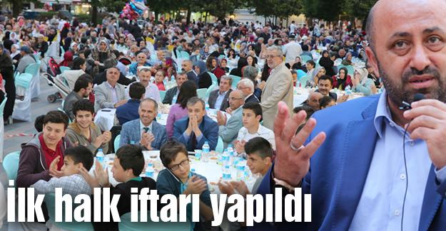 Oruçlarını Ömer Döngeloğlu ile açtılar