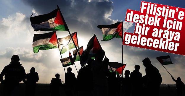 Şehit edilen Filistinliler için basın toplantısı yapılacak