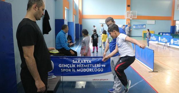 Sportif Yetenek Taraması ve Spora Yönlendirme Projesi başladı