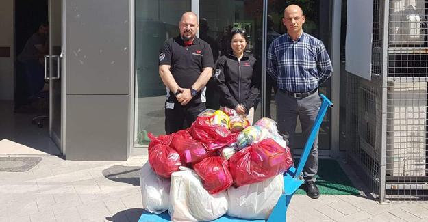 Toyota Boshoku çalışanlarından Ramazan kolisi yardımı