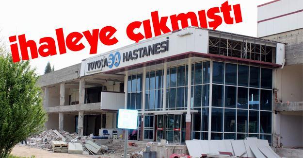 Toyotasa Hastane inşaası sürüyor