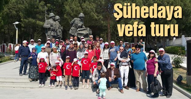Tük Orman-Sen üyeleri Çanakkale'yi gezdi