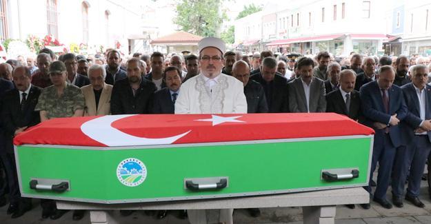 Zühtü Taranoğlu askeri törenle uğurlandı
