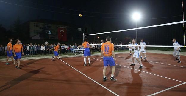 Abhaz ve Adige Köyleri Voleybol Turnuvası başladı