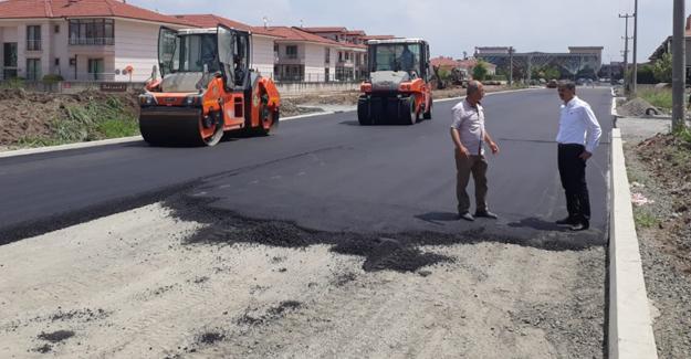 Başkan Alemdar 1. Cadde'deki çalışmaları inceledi