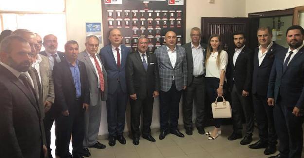 CHP'li adaylardan SP ve Geyve ziyareti