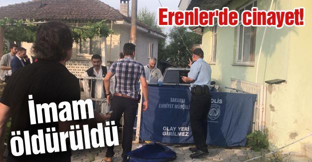 Erenler'de cinayet! İmam öldürüldü