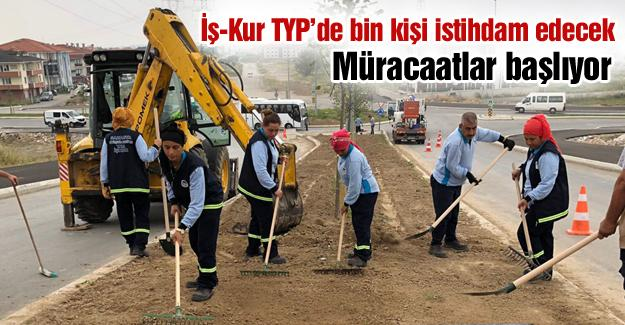 İş-Kur TYP'de bin kişi istihdam edecek