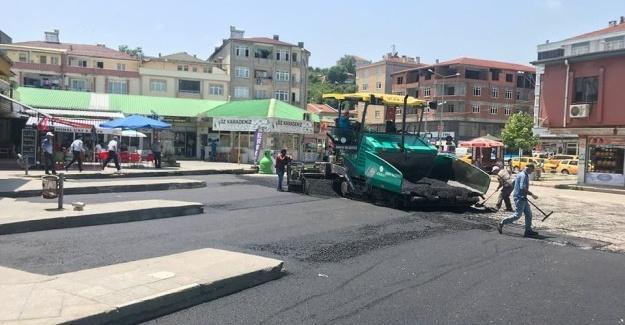Karasu'da asfalt sezonu başladı