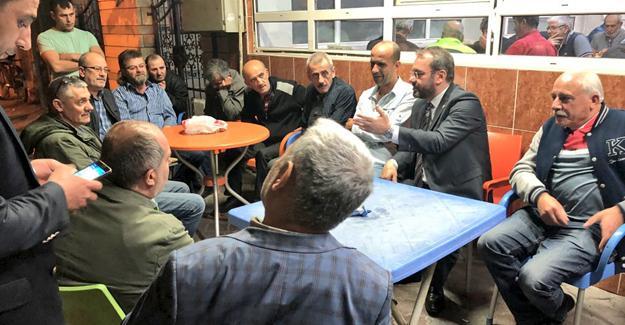 Uncuoğlu Adapazarı'nda ziyaretlerine devam etti