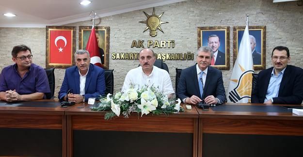 AK Parti yönetim kurulu toplandı